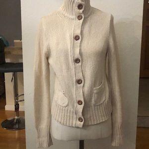 J.  Crew button down sweater